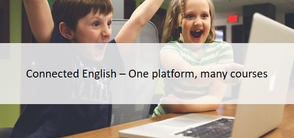 Connected English - One platform, many courses